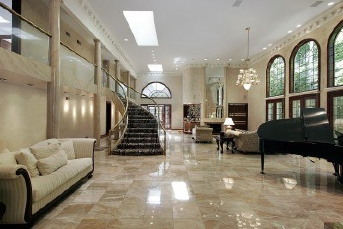 Marble floors are they worth it carolina flooring services for Living room floor designs pictures