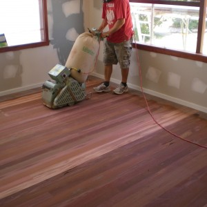 how to refinish hardwood