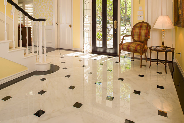 Ceramic tiles for floor