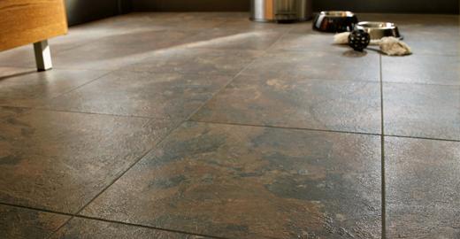 Vinyl Flooring Service : Inlaid vinyl tile flooring gurus floor