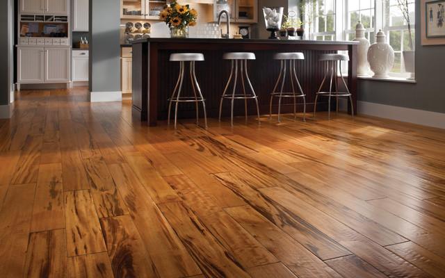 Solid Wood Or Engineered Wood Residential Flooring